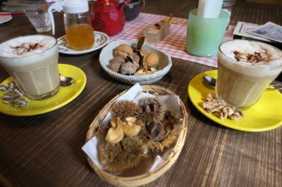 秋の別所温泉松茸の旅♪ Vol.5 ☆別所温泉の散歩:美味しいカフェ「ガーデンベリー」♪