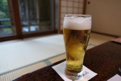 秋の別所温泉松茸の旅♪ Vol.7 ☆かしわや本店:貸し切り風呂と生ビール♪