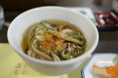 秋の別所温泉松茸の旅♪ Vol.9 ☆かしわや本店:朝食は美味しい蕎麦♪