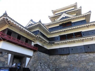 松本城と奈良井宿 1泊ドライブ旅