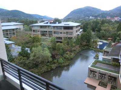 県内旅行で85歳の母と3人でまたまた箱根へ。その2東急ハーヴェストクラブ箱根甲子園へ。