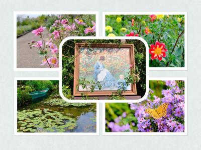 北川村の『モネの庭』に続いて... 近場でクロード・モネの作品を鑑賞♪
