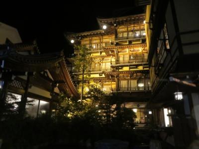 信州・渋温泉の温泉街散策と外湯入浴