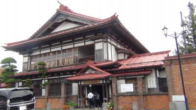 ヒストリカルストーリイNo.28レンタカーで青森県を巡る。その1金木の斜陽館 令和2年9月28日からの東北旅行4日目