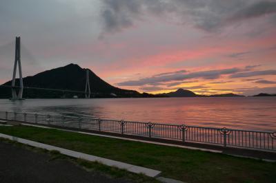自転車でしまなみ海道~大三島・生口島・因島・向島尾道フェリー乗り場まで往復。。因島で島のバスが幅寄せ嫌がらせ有り