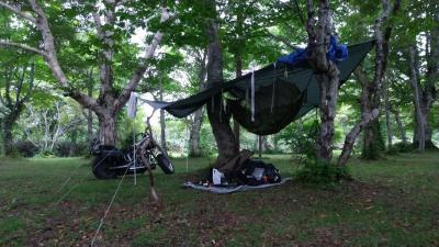 岩手県の無料キャンプ場、稲庭キャンプ場