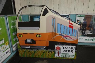 優等列車で東日本一周の旅