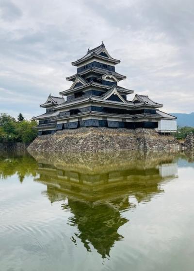 Go Toで長野県へ松茸を食べに~(1)松本城を見学して、上田市別所温泉へ!