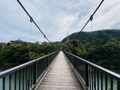 鬼怒川温泉で露天風呂と吊橋を堪能!翌日は絶品・氷室松月さんのカキ氷と和牛ステーキを頂きました!