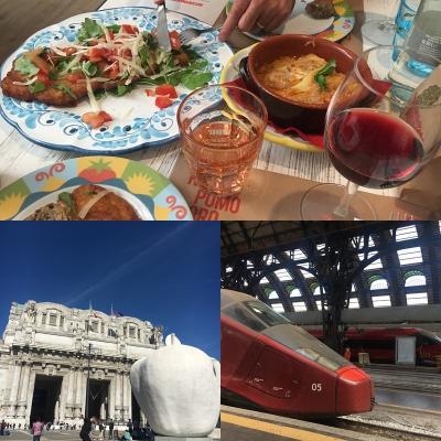 キャセイパシフィック航空で行くイタリア新婚旅行⑬ミラノへ移動