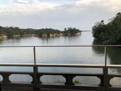 松島絶景の宿『松庵』に泊まる。