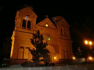 ニューメキシコ州 サンタ フェ ー 聖フランシス聖堂