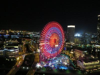 横浜ベイホテル東急(後)夜景、ディナー、サンライズ、モーニング編