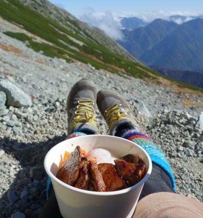 秋の立山黒部アルペンルート 扇沢から雄山 ~立山を眺めながら焼肉を食べる の巻~