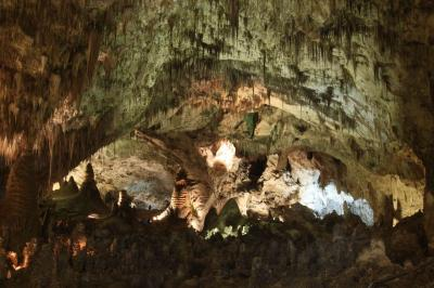 ニューメキシコ州 カールスバッド洞穴群国立公園 ー ビッグ ルーム