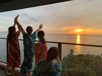 「チームうしがえる」おばちゃん旅。Go to トラベルでお安く快適日帰り温泉 ホテル三日月富士見亭貴賓室。