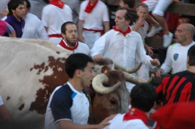 2008年 牛追い祭りとモンブラン登山-A(スペイン編)
