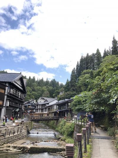 山形旅行1日目 銀山温泉から肘折温泉
