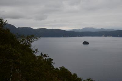 摩周湖と阿寒湖