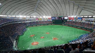 今シーズン初の野球観戦【東京ドームでジャイアンツ戦】