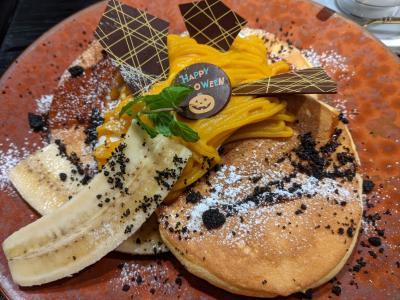 とんQでランチ~ウエスト珈琲ハウスでパンケーキ~やさと温泉ゆりの郷
