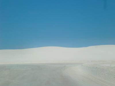 ニューメキシコ州 ホワイトサンズ国立公園 ー デューンズ ドライブ