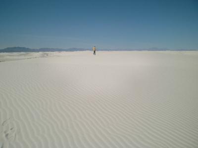ニューメキシコ州 ホワイトサンズ国立公園 ー ハート オブ ザ サンズ