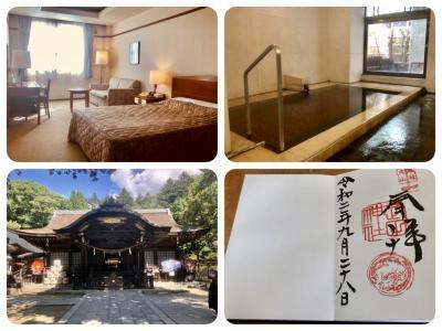 徒然なるままに・・・毎度変化の無い甲府旅行記 ホテル談露館~武田神社