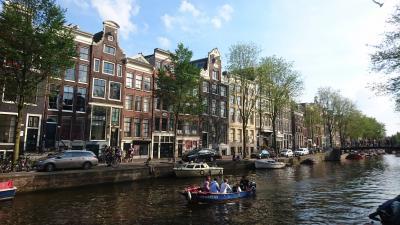 涼しきオランダ・ベルギーの夏(7) 運河の街アムステルダムとハイネケン・エクスペリエンスの黄金体験