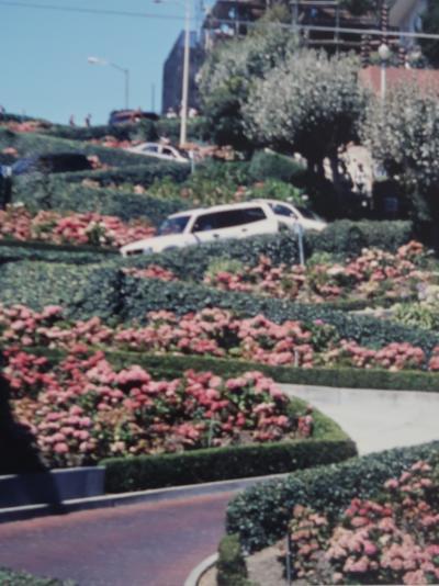 USA-5 カリフォルニア2001 a  サンフランシスコ 港街-坂の街 ☆ケーブルカーで名所探訪
