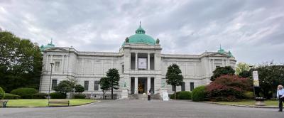 上野公園、東京国立博物館訪問