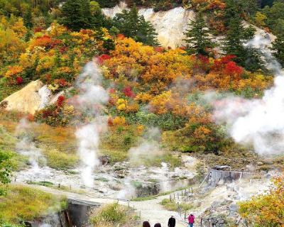 団塊夫婦の2020年日本紅葉巡りドライブー(東北)台風前の晴れ間を狙い八幡平・乳頭温泉へ