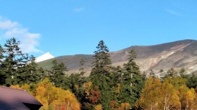 吹上温泉3日目・今日は昔歩いた十勝岳への道を途中まで歩きたい~