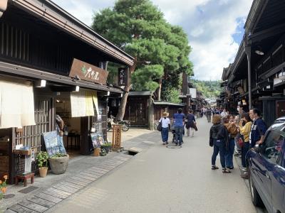 昼飯食べに2時間30分掛けて「飛騨高山」へ ・ラーメン~肉寿司~焼肉~飛騨牛バーガー~ラーメン