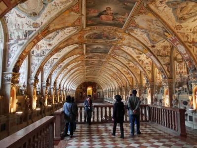 ドイツの魅力13日間旅行記⑦ミュンヘンの観光1、レジレンツの見物