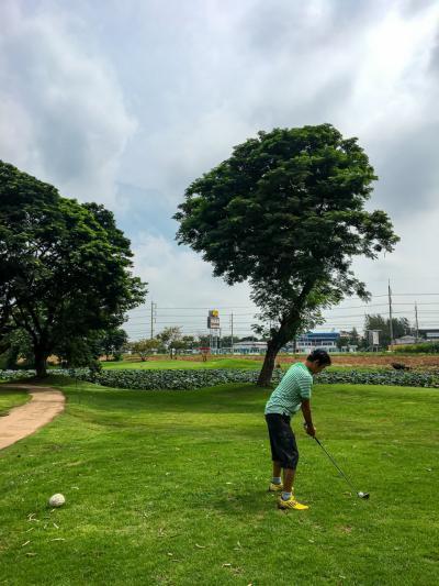 虎の穴で特訓 タイでゴルフ7回目