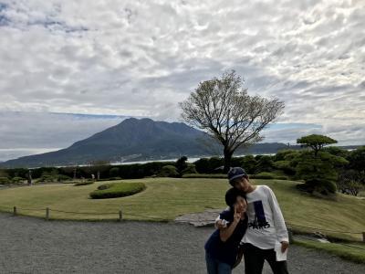 家族(一族)旅行 2020年10月 (長男12歳、次男9歳)IN 鹿児島・仙巌園・桜島 2日目