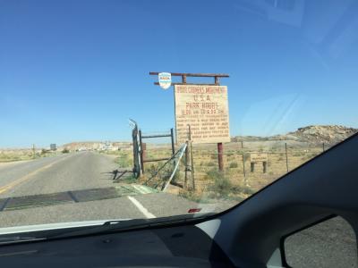 ニューメキシコ州 4コナーズ ロード