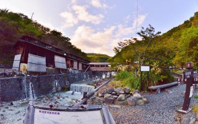東北縦断温泉を巡る6泊7日の旅 六日目会津東山温泉、大内宿、新甲子温泉、鹿の湯、旅館清水屋