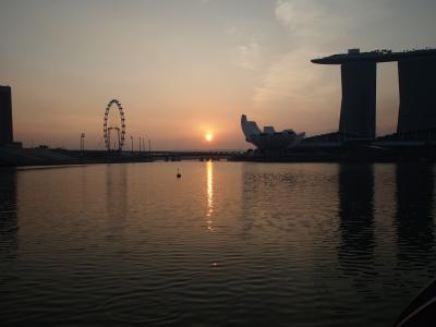 【2019年3月シンガポール4】最終日はマーライオン公園の日の出から!