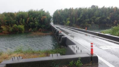 2020年9月守ろう心身の健康!四国リンリン時々テクテク遍路(3)台風9号の吉野川流域を味わい走る