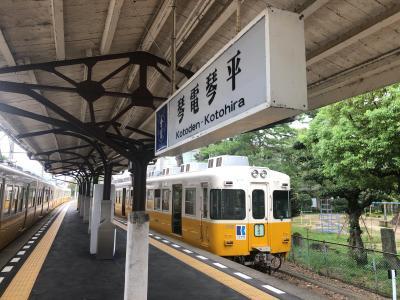 2020年 四国の鉄道・乗り鉄-C(琴平~瓦町~高松築港/高松~松山)四国満喫きっぷスペシャル