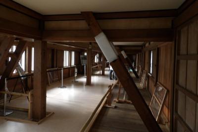 江戸城富士見多聞櫓の内部公開