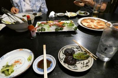 夏のプリンスバケーションクラブ三養荘1泊 居酒屋 藤の夕食
