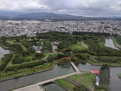 Go Toキャンペーンを利用して函館2泊3日の旅!(五稜郭と函館奉行所とホテル)