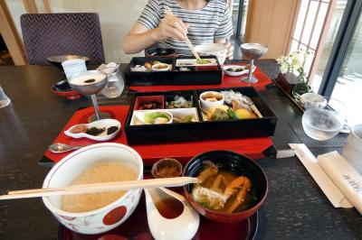 GoTo会員制リゾート7連泊 エクシブ鳥羽別邸 日本料理 華暦の朝食