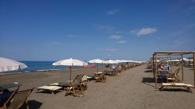 2020年9月 イタリア旅行3 トスカーナのビーチに到着 Marina di Castagneto Carducci