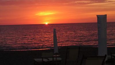 2020年9月 イタリア旅行5 トスカーナのビーチでのんびり過ごす5日間その2。Marina di Castagneto Carducci