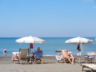 2020年9月 イタリア旅行4 トスカーナのビーチでのんびり過ごす5日間その1。Marina di Castagneto Carducci
