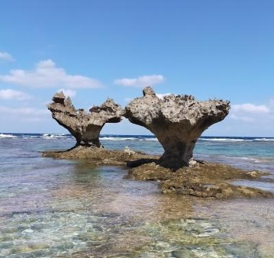 JALどこかにマイルで沖縄へ② ハートロックと美ら海水族館